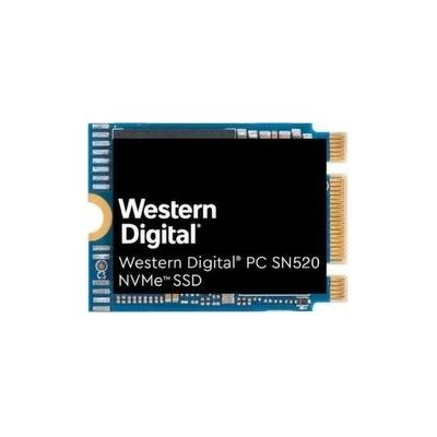 Твердотельный накопитель SSD 256GB WD PC SN520 SDAPTUW-256G-1012 M.2 2230 PCIe NVMe 3.0 x2, OEM