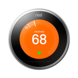 Беспроводной смарт термостат Google Nest Learning Smart Thermostat, 3rd Generation, Stainless Steel...