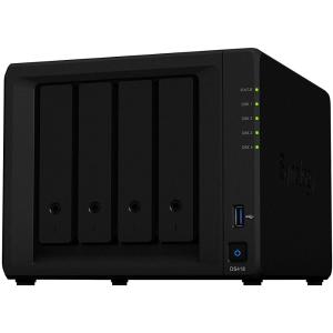 "Сетевой накопитель (NAS) Synology DiskStation DS418 Realtek RTD1296 (1.40GHz), 2GB DDR4, 4x3.5""/2.5""..."