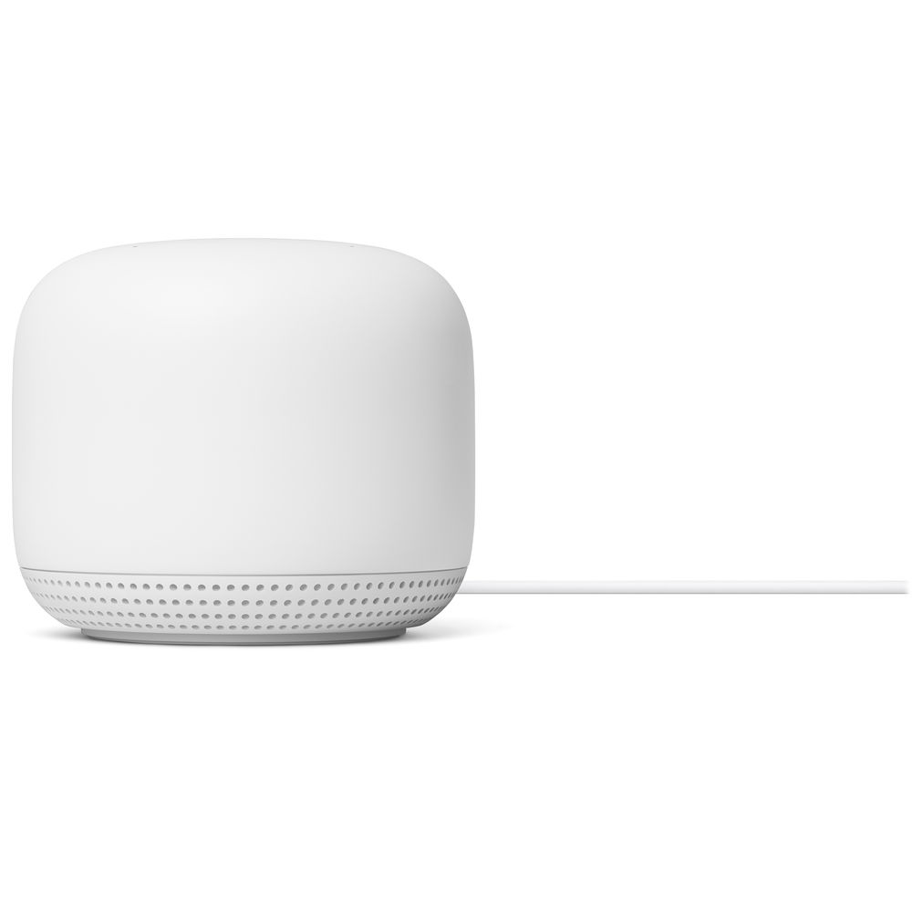 Роутер Google Nest Wifi Router and Two Points, Mesh Wi-Fi AC2200 (802.11ac, 1200 Mb/s (Point), 2200...