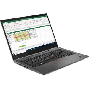 Ультрабук Lenovo ThinkPad X1 Yoga Gen 5 20UB001FUS Intel Core i5-10210U (1.60-4.20GHz), 8GB DDR3, 25...