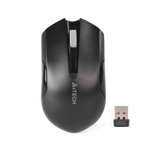 Мышь A4Tech G3-200N черная беcпроводная