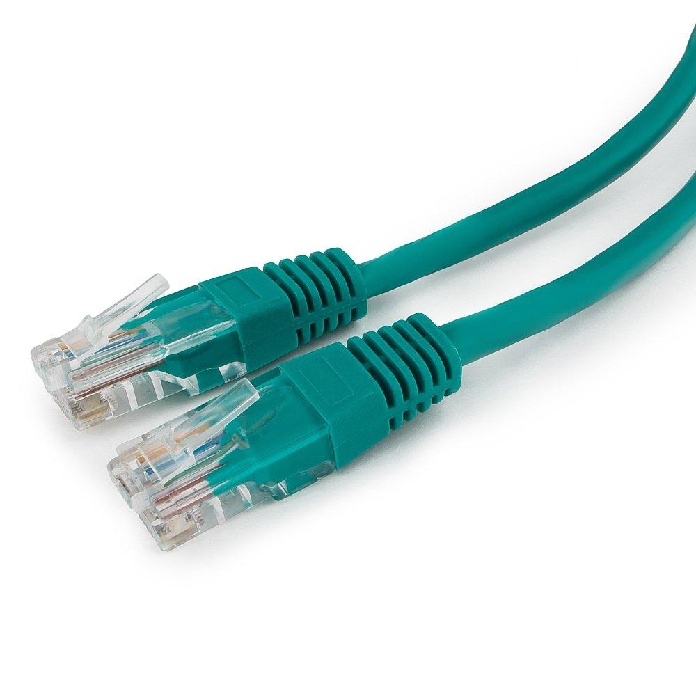 Патч-корд UTP Cablexpert PP12-0.5M/G кат.5e, 0.5м, литой, многожильный, (зеленый)