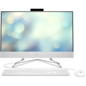 "Моноблок HP 24-df0031ur Intel Pentium Silver J5040 (2.00GHz), 4GB DDR4, 128GB SSD, Intel UHD Graphics 605, 23.8""FHD (1920x1080) LED, WiFi ac, BT 4.2, CR, HD WC, DOS, Русская клавиатура+Мышка USB, White"