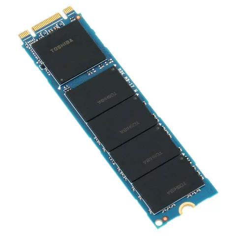 Твердотельный накопитель SSD 256GB Toshiba BG4 (KIOXIA) KBG40ZNV256G M.2 2280 PCIe 1.3b NVMe 3.0 x4,...