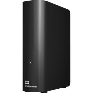"Внешний жесткий диск HDD 10TB WD Elements Desktop WDBWLG0100HBK-NESN, USB 3.1 Gen 1, 3.5"", Black"