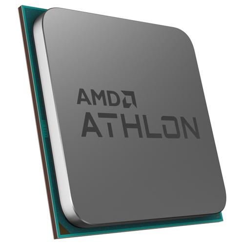 Процессор AMD Athlon 220GE, CPU AM4, 3.40GHz, 2xCores, 4MB Cache L3, AMD Radeon Vega 3 Graphics, Rav...