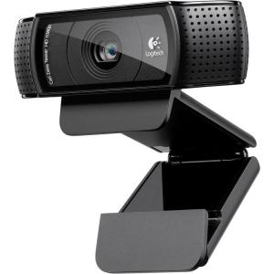 Веб камера Logitech C920 HD Pro 15MP, Full HD, 1080p, Carl Zeiss Tessar, Logitech Vid HD, Microphone...