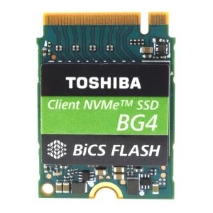 Твердотельный накопитель SSD 256GB Toshiba BG4 (KIOXIA) KBG40ZNS256G M.2 2230 PCIe 1.3b NVMe 3.0 x4,...