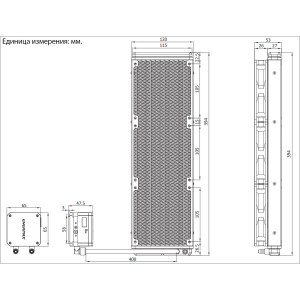Водяное охлаждение Enermax LIQMAX III 360 aRGB 360mm Liquid CPU Cooler, 3xDual-Convex aRGB PWM 120mm...