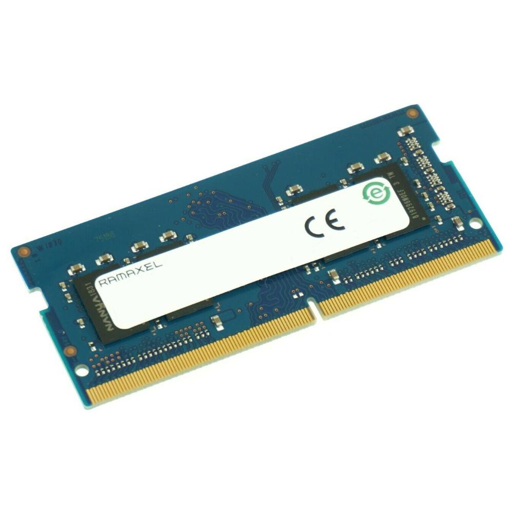 Память RAMAXEL 4GB DDR4 2666MHz (PC-21300), Single Rank, CL17, 1.2V, SODIMM для ноутбука