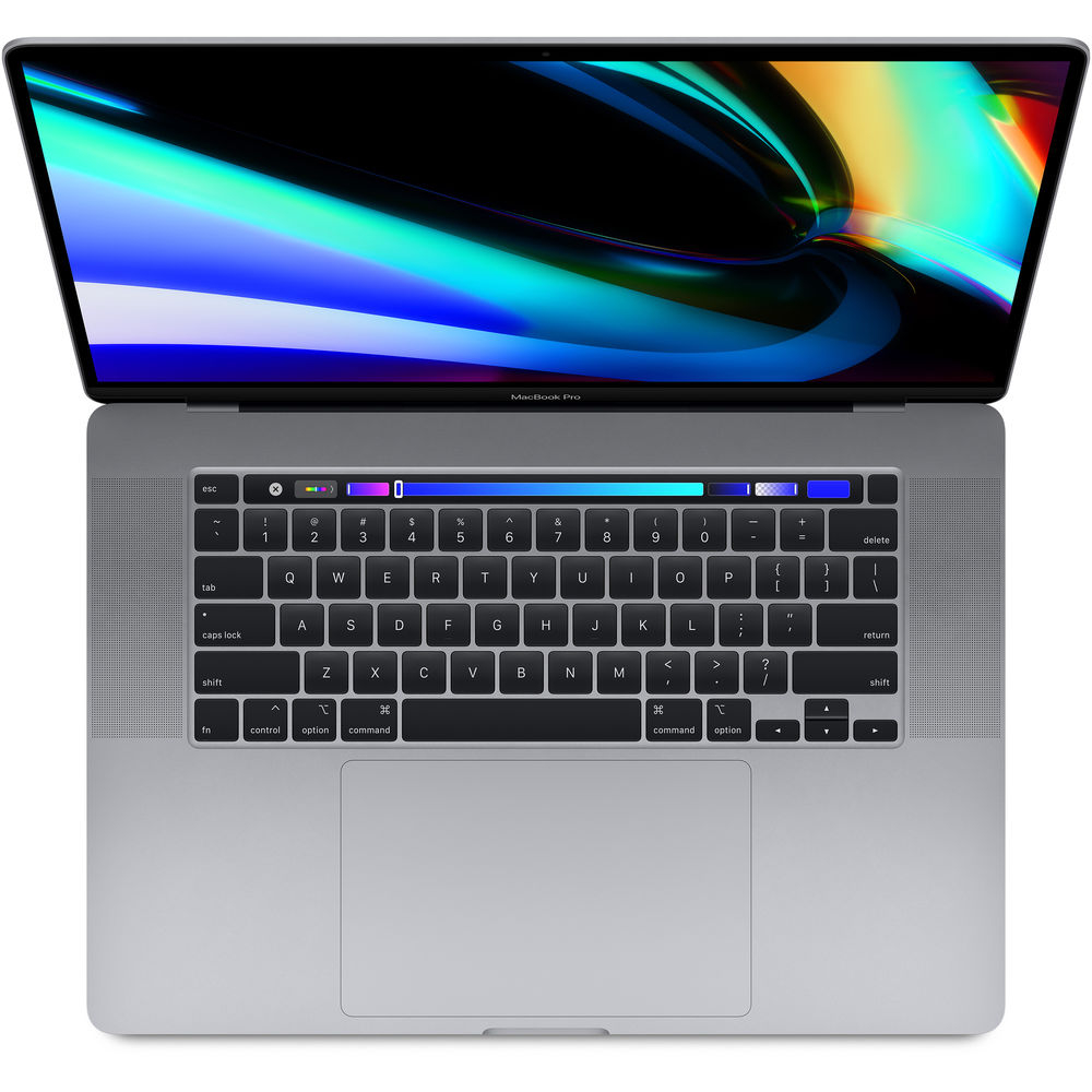Apple MacBook Pro with Touch Bar (Late 2019) MVVJ2LL/A Intel Core i7-9750H (2.60G-4.50Hz), 16GB LPDD...