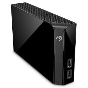 Внешний жесткий диск HDD 8TB Seagate Backup Plus Hub STEL8000100, USB Hub, USB 3.0, Black