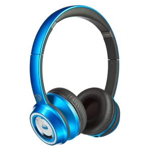 Наушники Monster N-Tune High Performance On-Ear Headphones, проводные, jack 3.5mm, Blue/Black