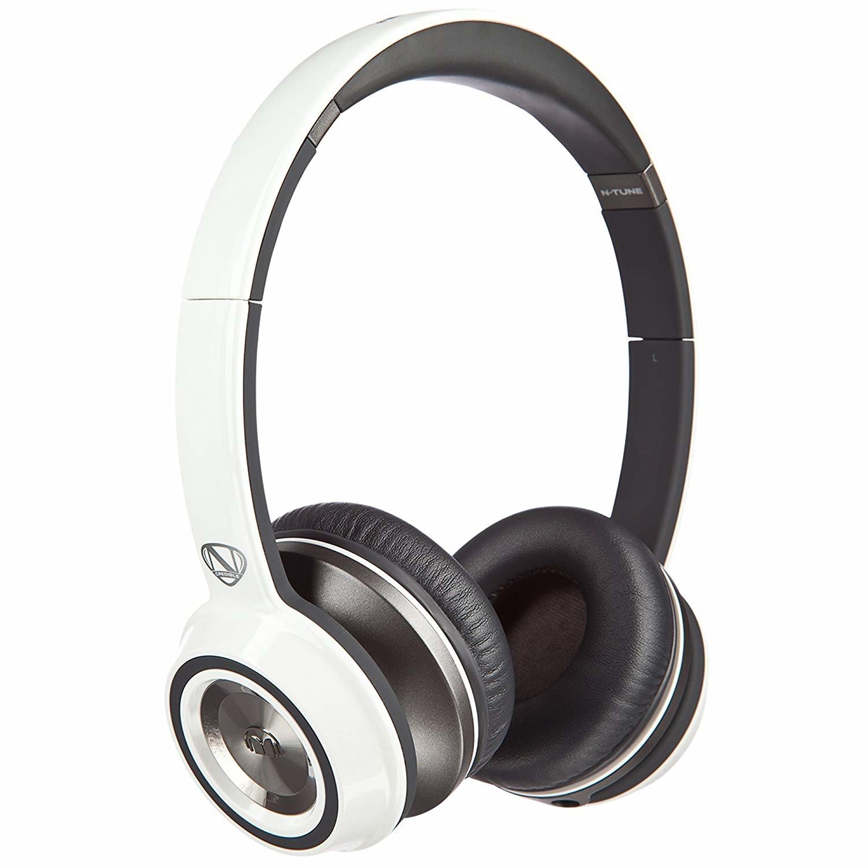 Наушники Monster N-Tune High Performance On-Ear Headphones, проводные, jack 3.5mm, White/Black