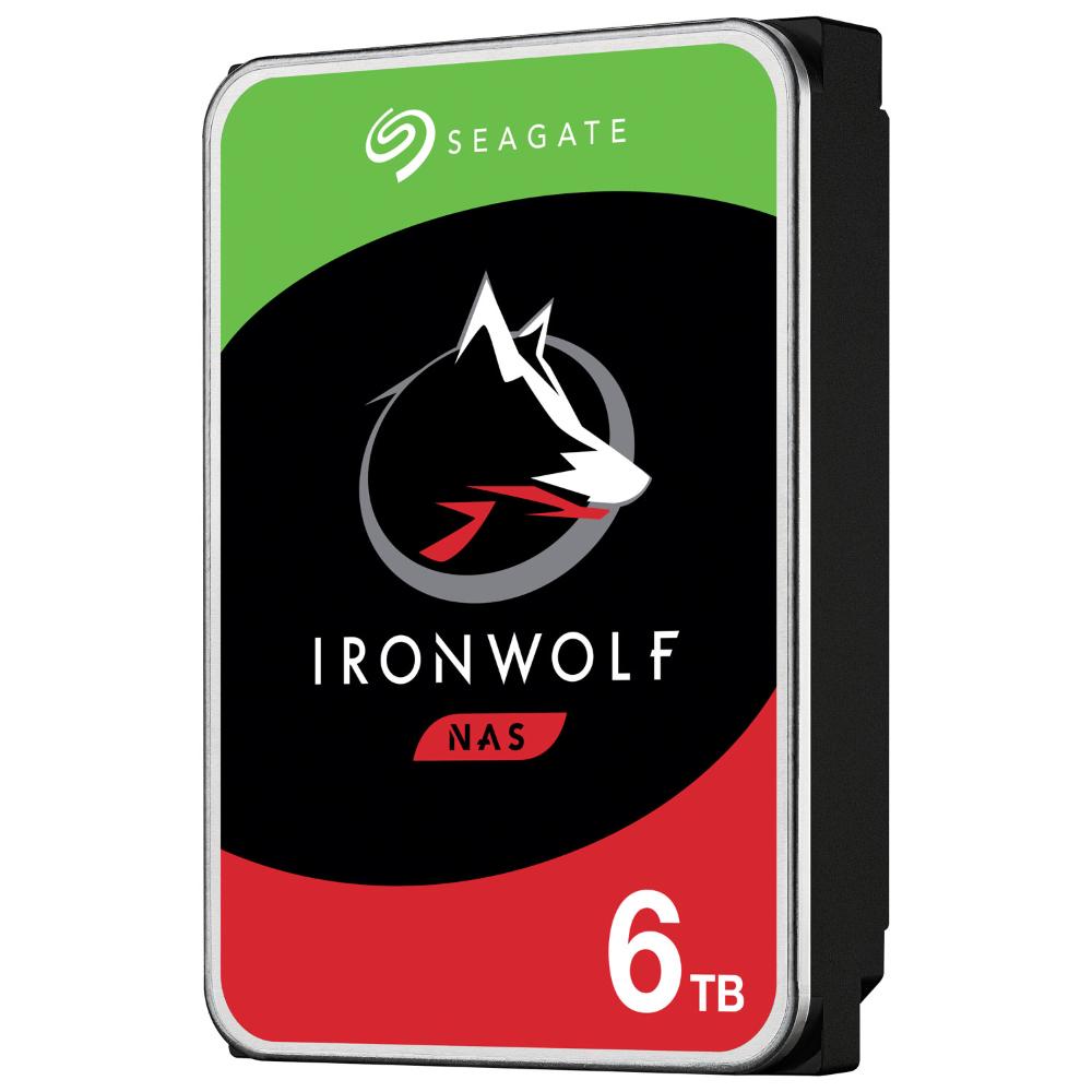 "Жесткий диск HDD 6TB Seagate IronWolf NAS ST6000VN0033, 256MB, 7200RPM, SATA3 6.0Gb/s, 3.5"""