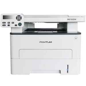 МФУ Pantum M6700DW (A4, ADF, Printer, Scanner, Copier, 1200x1200dpi, 30ppm, Duplex Print, USB, LAN,...