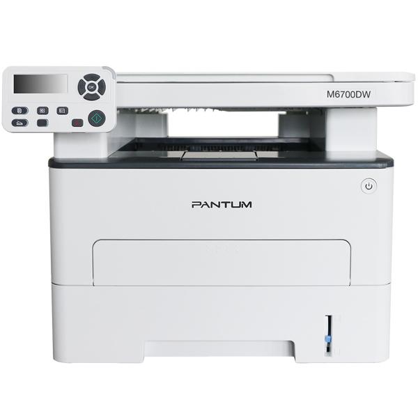МФУ Pantum M6700DW (A4, Printer, Scanner, Copier, 1200x1200dpi, 30ppm, Duplex Print, USB, LAN, Wi-Fi...