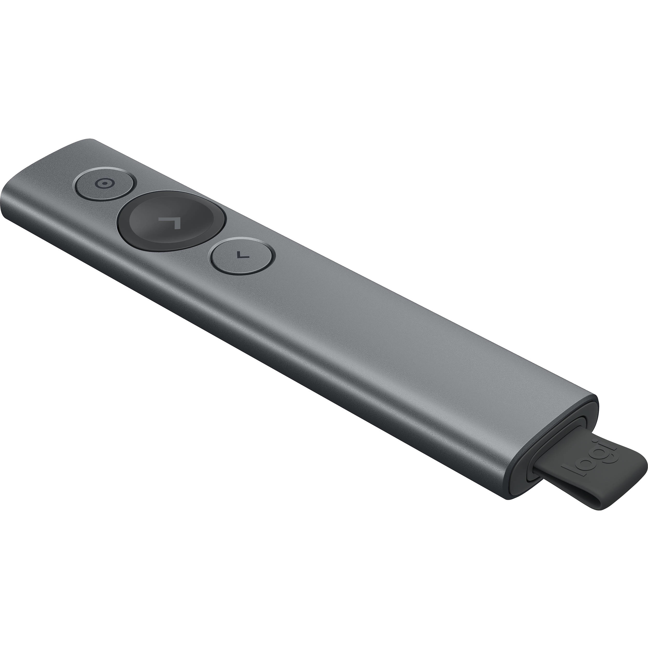 Презентатор Logitech Spotlight Presentation Remote, Bluetooth, Grey