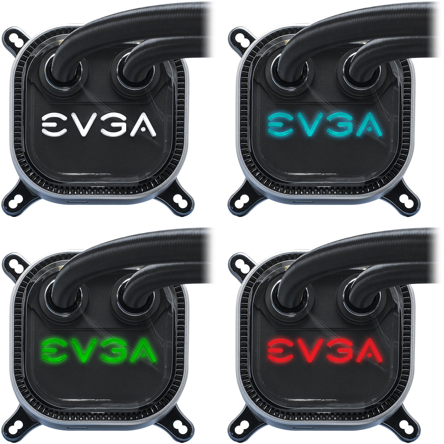 Водяное охлаждение EVGA CLC 280mm All-In-One RGB LED CPU Liquid Cooler 400-HY-CL28-V1, 2x FX13 140mm...