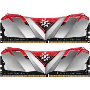 Память XPG GAMMIX D30 Gray/Red 32GB DDR4 3000MHz (PC4-24000) (2x16GB) AX4U3000316G16A-DR30 Desktop M...
