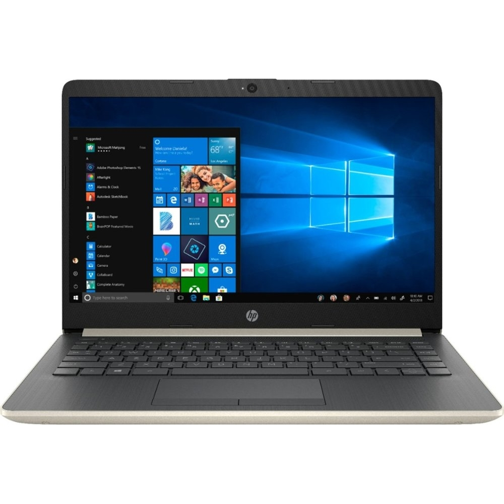 Ноутбук HP 14-cf0006dx 5VQ99UA#ABA Intel Core i3-7100U (2.40GHz), 4GB DDR4, 128GB SSD Intel HD Graph...