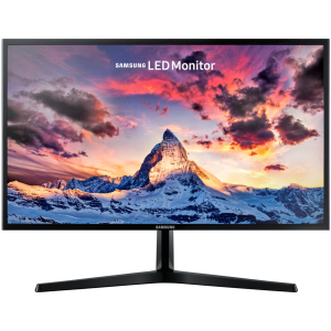 "Монитор Samsung 27"" S27F358FWI, FHD 1920x1080 (16:9), Матовый, PLS LED, 1000:1, (1000000:1), 178°/178°, тонкая подставка, Flicker Free, 250 cd/m2, 60Hz, 4ms, DisplayPort, HDMI, Black"