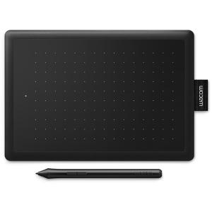 Цифровой графический планшет WACOM One by Small CTL472N, A6, USB, 2048 Pressure Levels, Black/Read+W...
