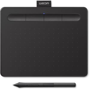 Цифровой графический планшет Wacom Intuos Small CTL4100K-N, A6, USB, 4096 Pressure Levels, Black+Wac...