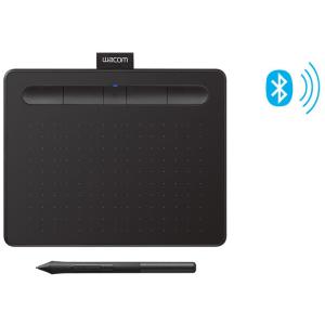 Цифровой графический планшет Wacom Intuos Small CTL4100WLK0, A6, USB, Bluetooth, 4096 Pressure Level...