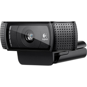 Веб камера Logitech C920 HD Pro 15MP, Full HD, 1080p, Carl Zeiss Tessar, Logitech Vid HD, Microphone, USB 2.0, Black
