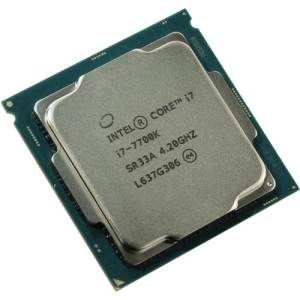 Процессор Intel Core i7-7700K, CPU LGA1151, 4.20GHz-4.50GHz, 4xCores, 8MB Cache L3, EMT64, Intel® HD Graphics 630, Kaby Lake (7th Gen), Tray