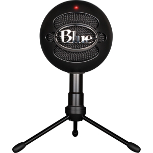 Микрофон Blue Snowball iCE, конденсаторный (кардиоидный) микрофон, 40-18kHz, 16bit/44.1kHz, Tripod,...