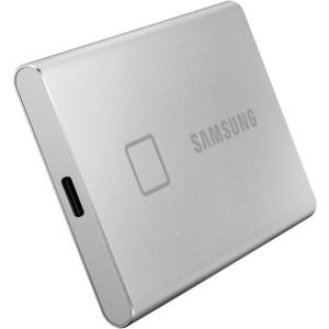 Внешний твердотельный накопитель SSD 500GB Samsung T7 Touch Portable MU-PC500S/WW, USB 3.2 Gen 2 Typ...