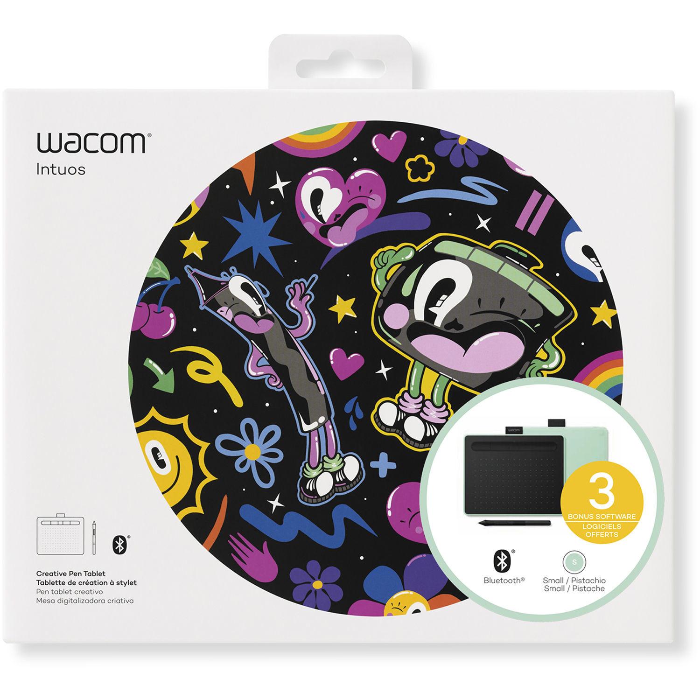 Цифровой графический планшет Wacom Intuos Small CTL-4100WLE0, A6, USB, Bluetooth, 4096 Pressure Leve...