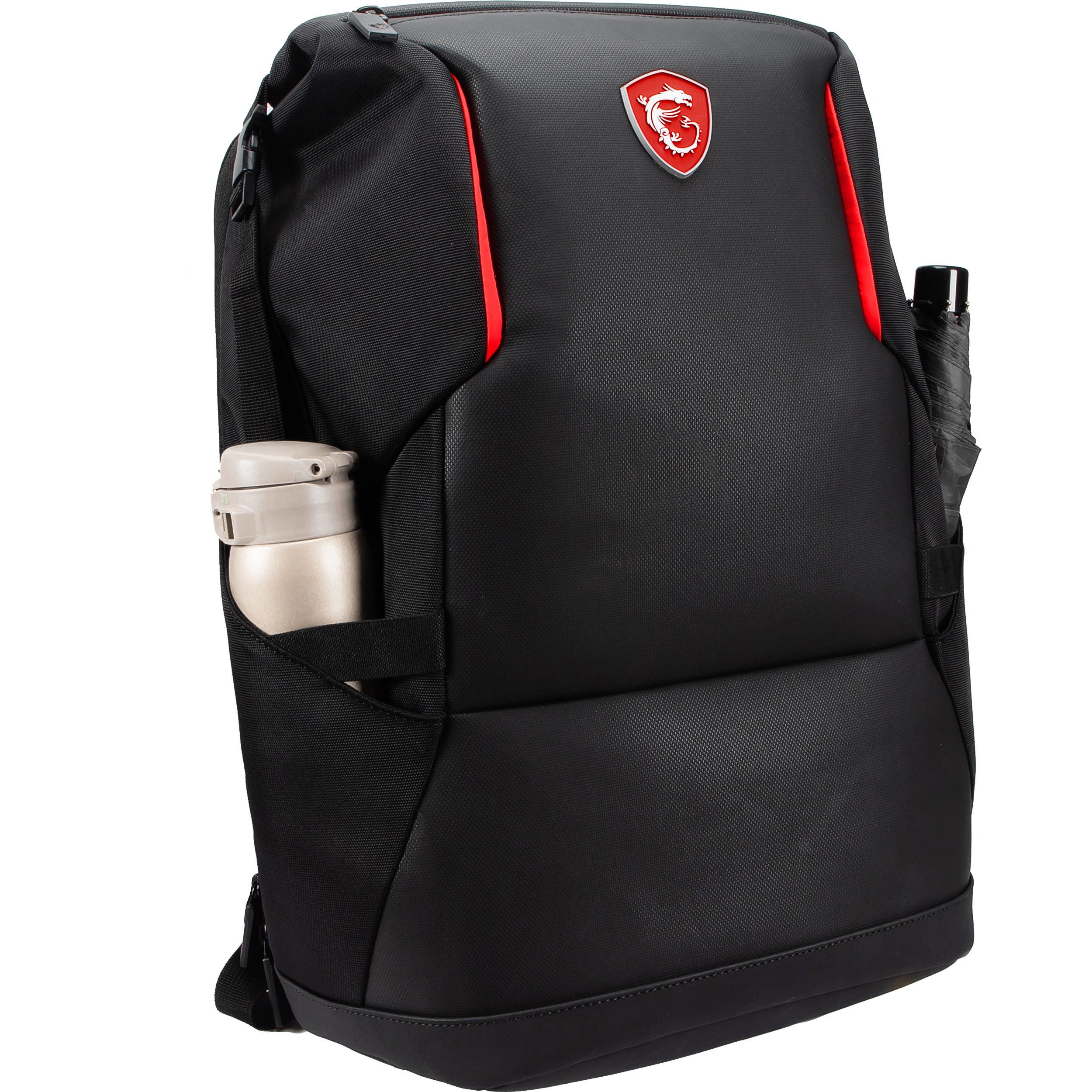 "Рюкзак MSI Urban Raider 17"" Gaming Backpack (500mm x 345mm x 185mm) URBANRBP, IPX2, Polyester, Black"