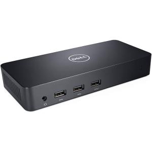 Стыковочная станция DELL D3100 2xHDMI 2.0, 1xDisplayPorts, 3xUSB 3.0, 2xUSB 2.0, Gigabit RJ-45 Ethernet Port, Audio In/Out, Audio In, Black